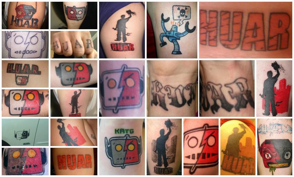 HUAR tattoos
